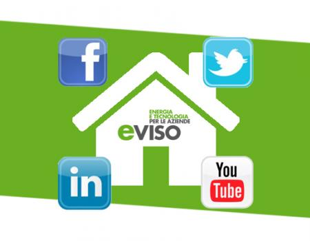 eviso è anche sui social network: facebook, twitter, youtube e linkedin