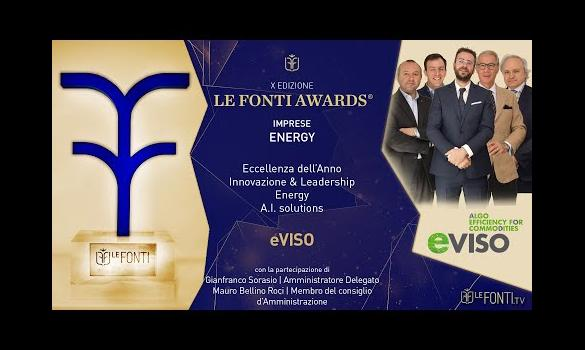 Embedded thumbnail for eVISO Eccellenza nel settore Energy - Premio Le Fonti Awards